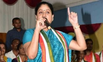 KCR ruled us from his farmhouse: Vijayashanti