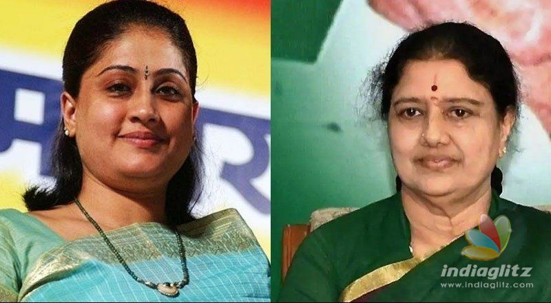 Vijayashanti called on Sasikala recently