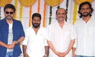 Rana-Sai Pallavi's 'Virata Parvam' launched