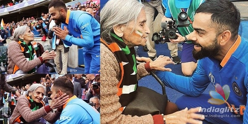 India Vs Ban game: Old fan wows Virat Kohli, delights fans