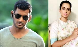 Vishal lavishes praises on Kangana Ranaut's 'guts'