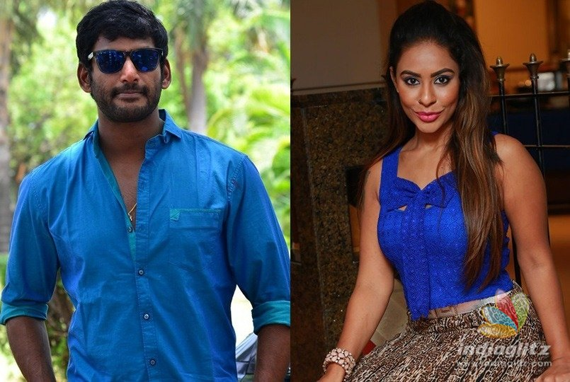 Vishal asks Sri Reddy to show proof