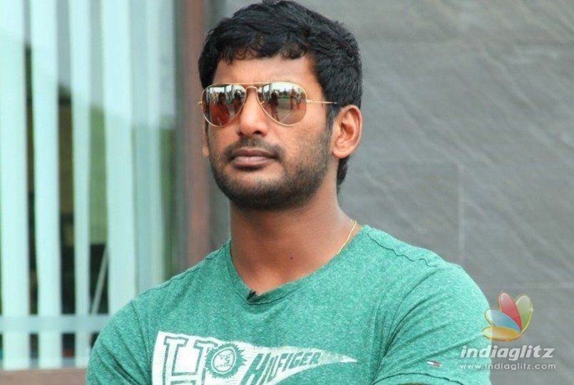 Vishals stylish look in Temper remake out