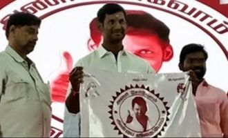 Vishal turns fan clubs into a party for people