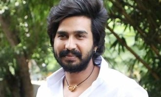 Vishnu Vishal & his elephant-friend look cute in 'Aranya'