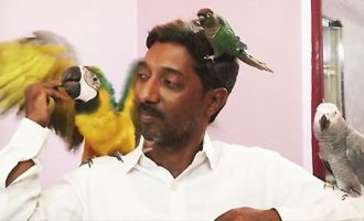 Vishwanath Hegga is like real-life Pakshi Raja of '2.0'