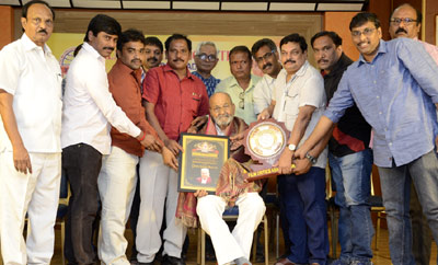 Film Critics Association Organised Felictation to K Viswanath