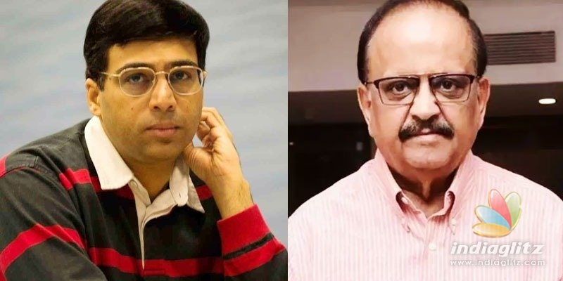 Viswanathan Anand remembers SP Balasubrahmanyams great help when he was 13