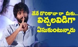Vijay Deverakonda interview about NOTA