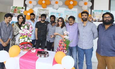 'Vunnadhi Okate Zindagi' Success Celebrations
