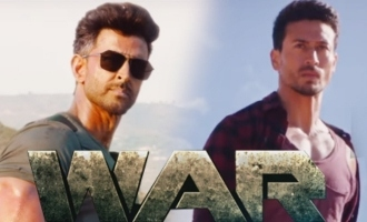 'War' background music sounds similar to Saaho's