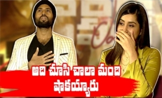 Many were shocked to see that:Raashi Khanna  World Famous Lover Team Interview