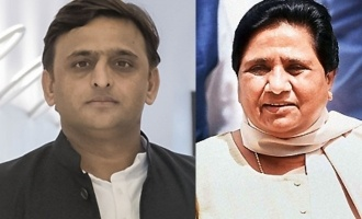 Big blow to BJP from UP as Yadav-Mayawati unite