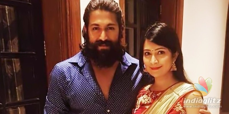 Trolls question KGF actor Yash & wife