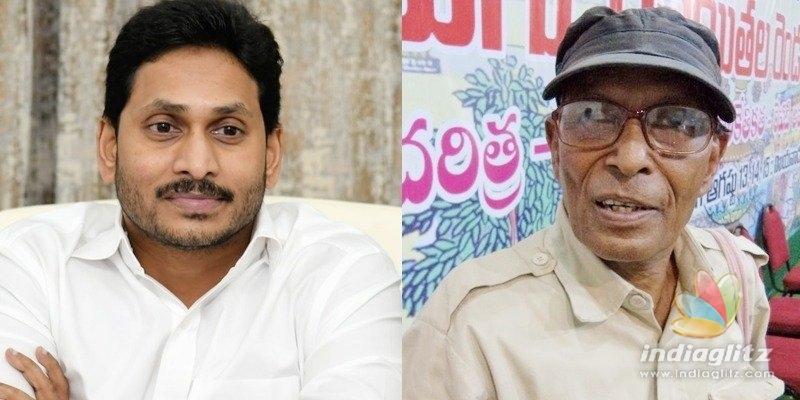 Balladeer Vangapandu is more; Jagan extends condolences