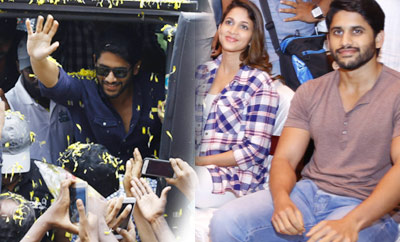 'Yuddham Sharanam' Team Tour In AP
